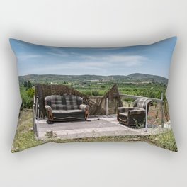 Calm place to relax Rectangular Pillow