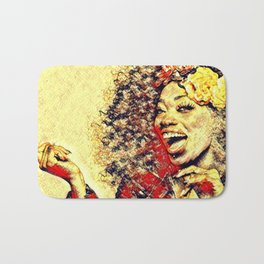 Ebony Joy Bath Mat