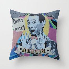peewee Throw Pillow