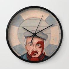 Crab Beard Wall Clock