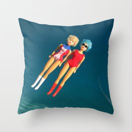 Just Float Throw Pillow