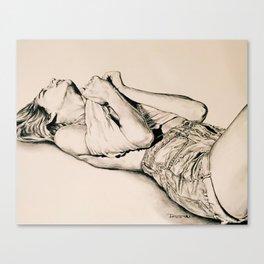 Sun Bathe Canvas Print