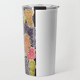 Grapes for wine lovers, gastronomy and restaurants Travel Mug
