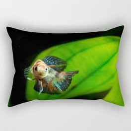 Koi Betta Boy Rectangular Pillow
