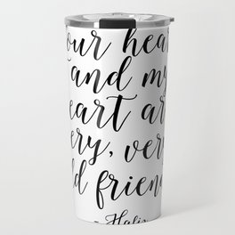 Hafiz Quote Valentines Day Decor Gift For Her Printable Quotes Best Friends Gift Love Sing Follow Travel Mug