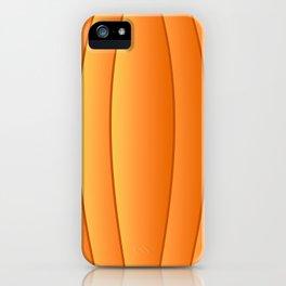 Bland Pumpkin iPhone Case