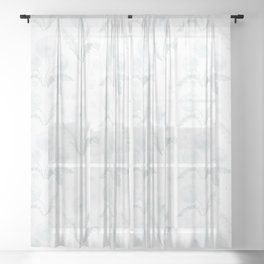 Hanging in There… Sheer Curtain