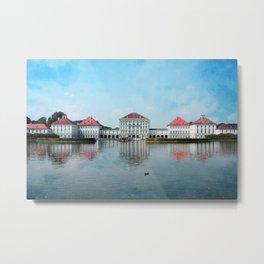 Nymphenburg Castle Metal Print