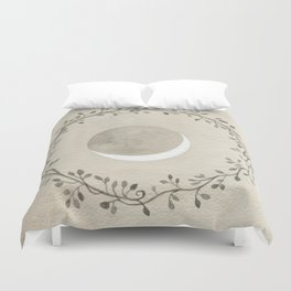 Crescent and Wreath Duvet Cover