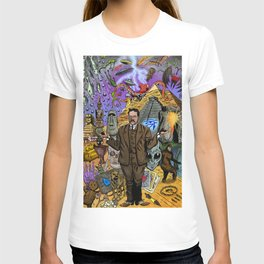 Charles Fort - Fortean T-shirt