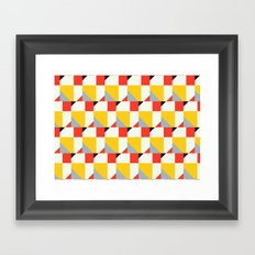 Crispijn Pattern Framed Art Print