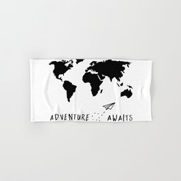 Adventure Map II Hand & Bath Towel