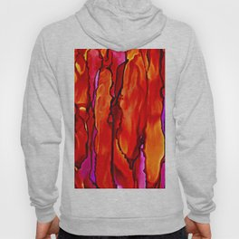 Reverie in Red Yellow and Violet Hoody