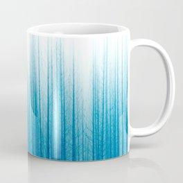 Blue Forest at Dawn Coffee Mug