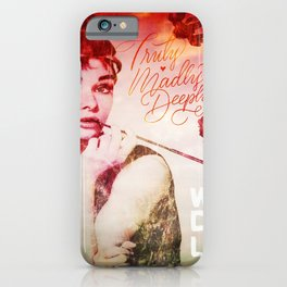 A Truly, Madly, Deeply Audrey iPhone Case