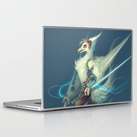 soldier Laptop & iPad Skins featuring Soldier by Liz Liu