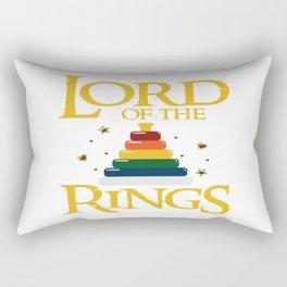 Baby Lord Rings Mum Dad Kids Fantasy Parents Gift Rectangular Pillow