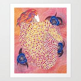 Zhar Ptitsa (Fire Bird) Art Print