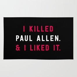 American Psycho - I killed Paul Allen. And I liked it. Rug