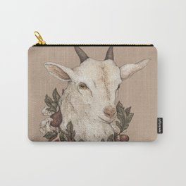 Goat and Figs Carry-All Pouch