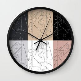 iFail Collage landscape (Picture This!) Wall Clock