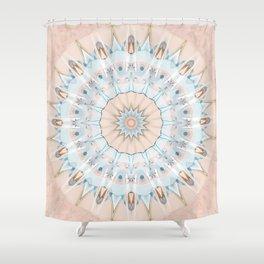 Mandala Pantone 2016 Shower Curtain