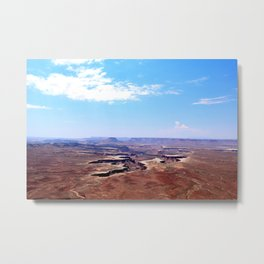 Green River Overlook, Canyonlands National Park, Utah Metal Print