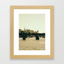 Ile De La Cite Framed Art Print