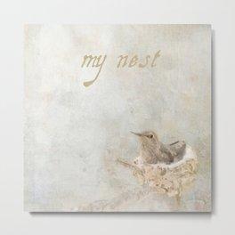 my nest Metal Print