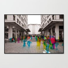 Sequential Serie : The Maket Place Canvas Print