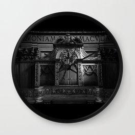 Church Organ Wall Clock