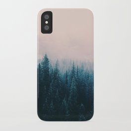 Pastel Forest iPhone Case