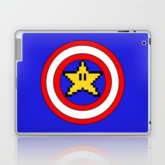 Captain Mario Laptop & iPad Skin