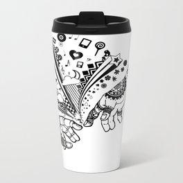 Creation of human Travel Mug