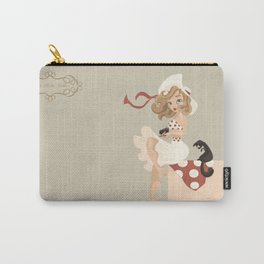 Manu Vintage Carry-All Pouch