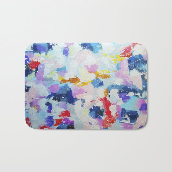 Abstract pattern 2 Bath Mat