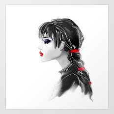red tape Art Print