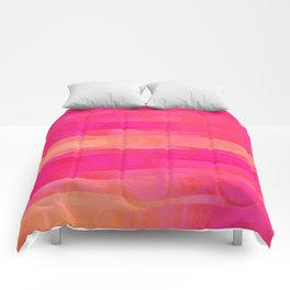 Hot Pink Magic Comforters
