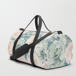 Flowers And Succulents #buyart #decor #society6 Duffle Bag