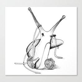 Stir Fry Slug Canvas Print