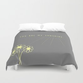 For my daughter: our sunshine. Duvet Cover