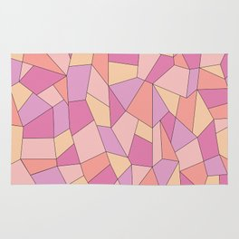 Candy geometry Rug