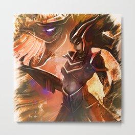 League of Legends SHYVANA Metal Print