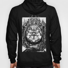 The Dreaming Abyss (Black and White) Hoody