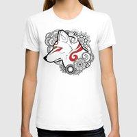 henna T-shirts featuring Henna Wolf by Ben Coffman