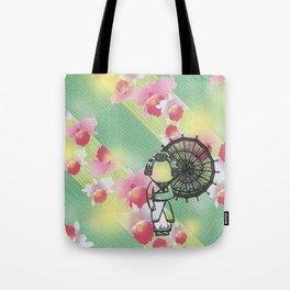 The Second Beautiful Geisha Tote Bag