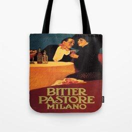 Vintage poster - Bitter Pastore Milano Tote Bag
