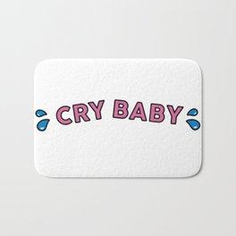 cry baby Bath Mat