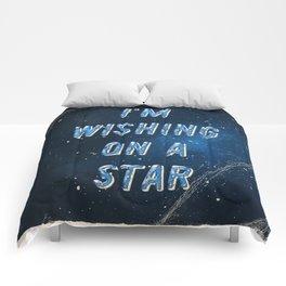 I'm wishing on a Star - 50 Years Moonlanding Comforters