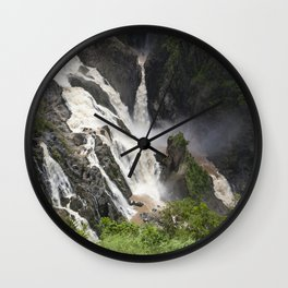 Flooding River Wall Clock